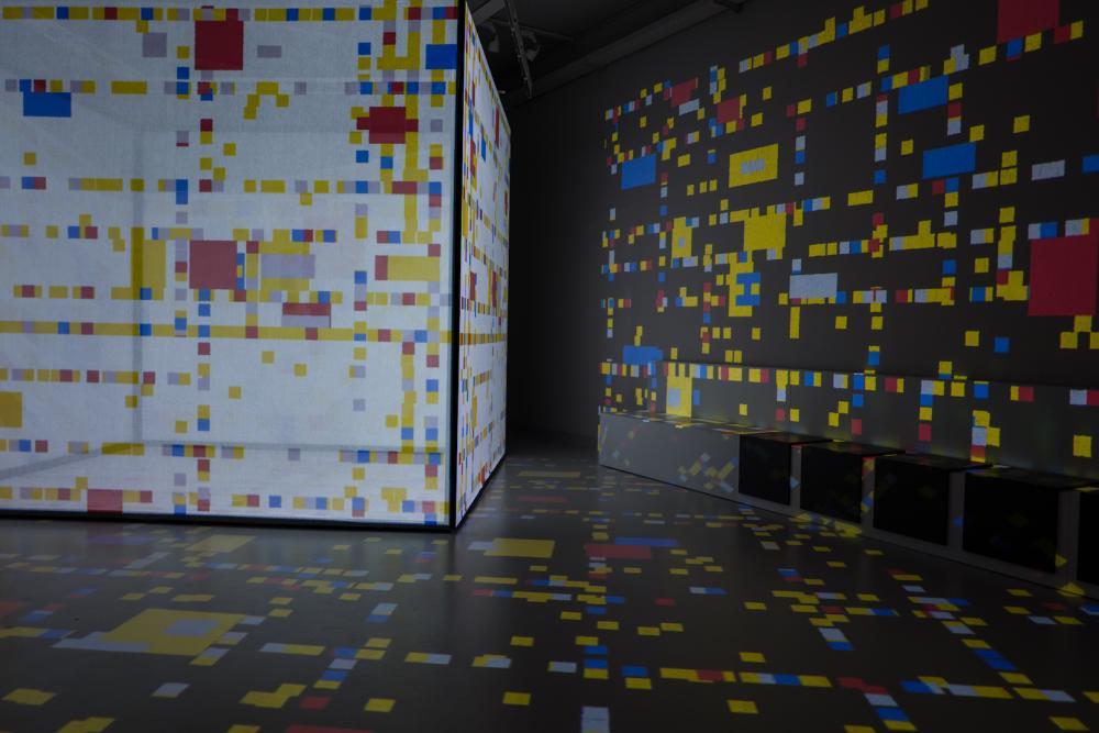 Im Mondriaan-Museum Amersfoort